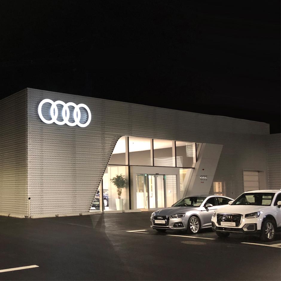 Audi Limerick completes