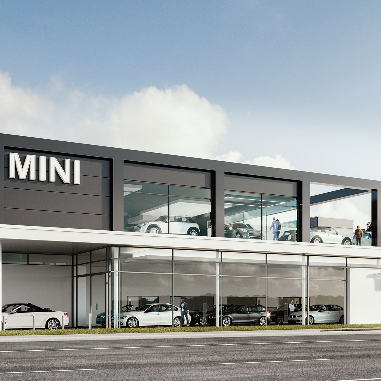 Planning for Multi-storey BMW Hindhead