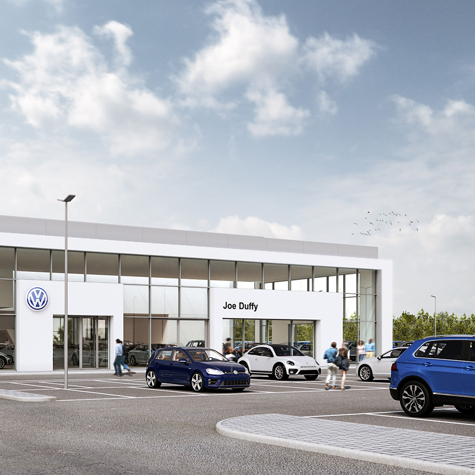A substantial three brand site in North Dublin has started on site
